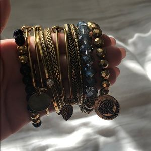 Francesca's Collections Jewelry - Bracelets and watch set